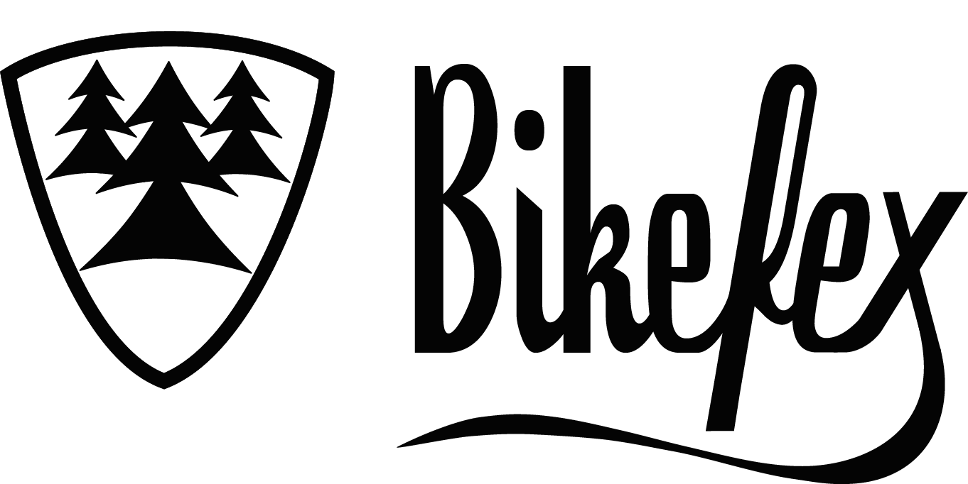 Bikefex Logo Black - Mountainbike trips in Europe | Bikefex